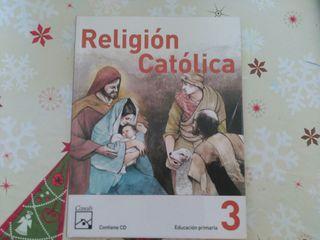LIBRO TEXTO. Religión católica 3°primaria. Casals