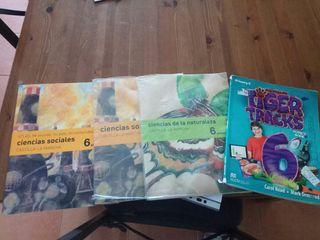 libros texto 6 primaria
