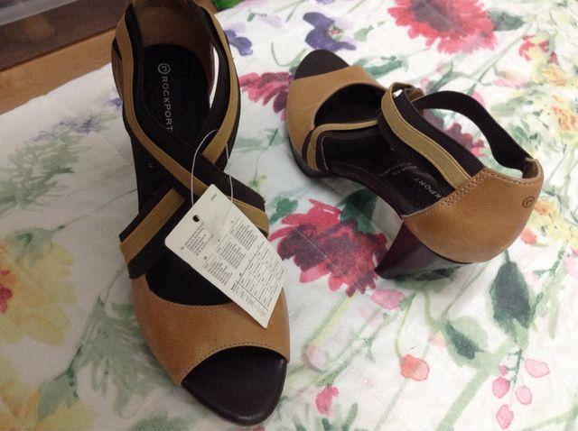 Zapato tacón piel