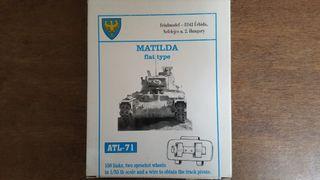 Maqueta tanque y orugas Friulmodel