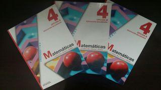 Matemáticas Anaya 4° ES0. Opcion B.