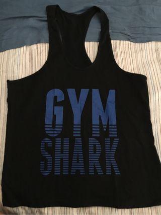 Camiseta gym shark gym