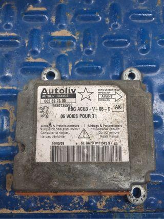 Centralita de airbag del peugeot 206
