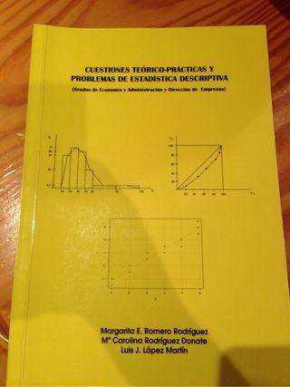 Libros de estadistica ADE/Economía ULL