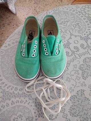 zapatillas vans niña 27