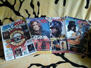 revistas de HEAVY ROCK ( COLECCIONISTAS )