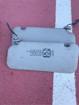 Parasoles delanteros 307sw