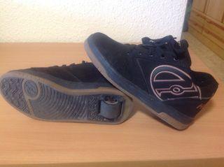 Zapatillas con ruedas Hellys