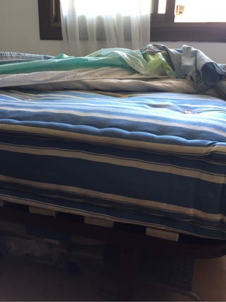 Cama doble completa/ cama matrimonio