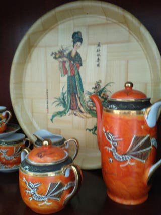 juego de café china