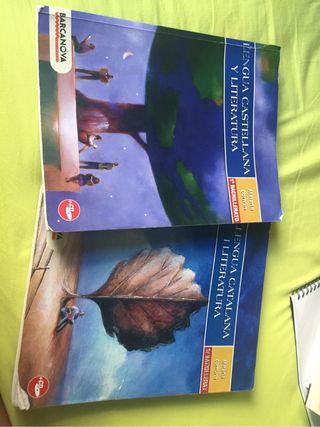 Libros castellano/catala 1batx