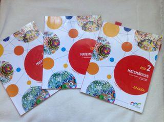 Libro Matematicas 2 ESO