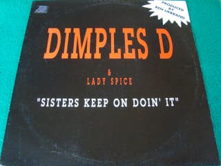 "DIMPLES D & LADY SPICE.- MAXI SINGLE VINILO 12""."