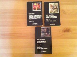 Los tres libros 10€ Literatura Española