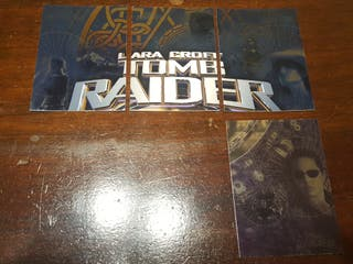 2001 - Lara Croft - Tomb Raider - Cartas especiale