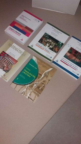 Libros educación secundaria adultos NEGOCIABLE.