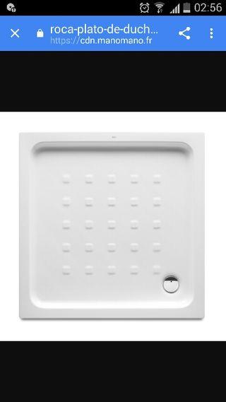 plato de ducha 80×80 Gres nuevo