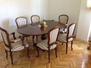 Juego de sillas y mesa de comedor de segunda mano por 650 - Juego de comedor segunda mano ...