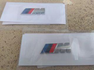 EMBLEMAS BMW M LATERALES 45X15 mm