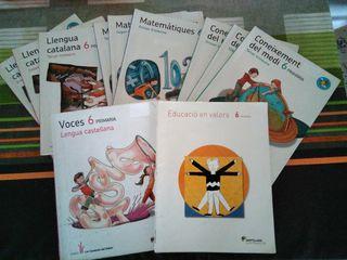 libros de texto de 6 de primaria