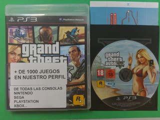 Gran Theft Auto 5 V Ps3 PAL Playstation 3