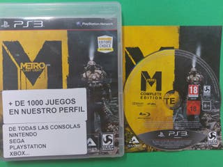 Metro Last Light Complete Edition Ps3 PAL