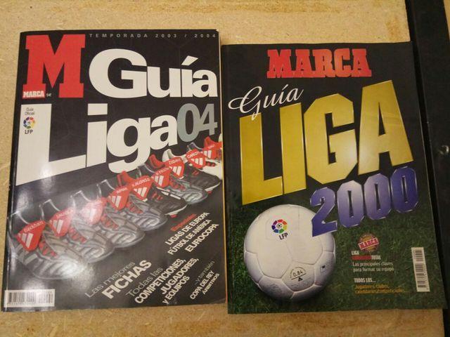 Guía Liga Marca 2000 y 04