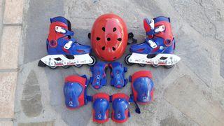 patines linea conjunto