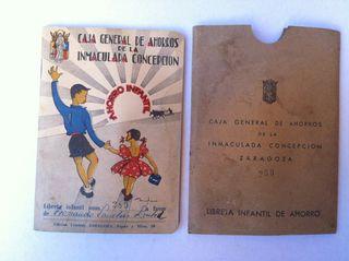 Libreta ahorros 1959