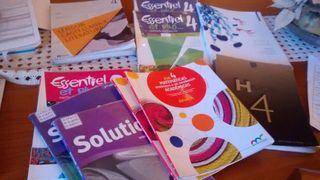 Libros 4 eso Ies Villarejo sección bilingüe ciencias