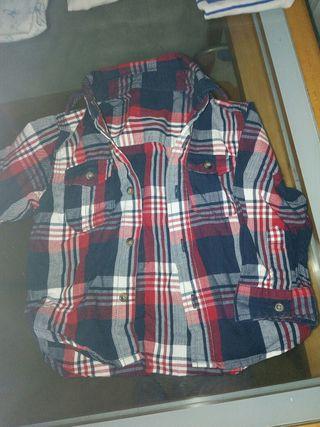 camisa de 12-18meses
