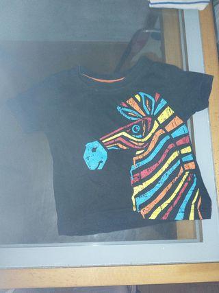 camiseta de 12-18 meses