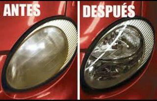 reparacion de faros de automovil