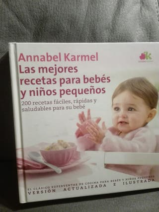 Libro las mejores recetas para Bebes y niños