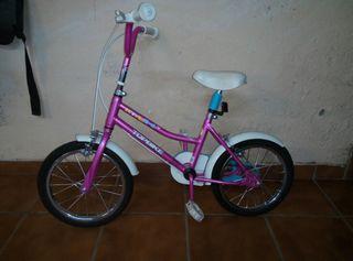 """Bici infantil pequeña 14"""""""