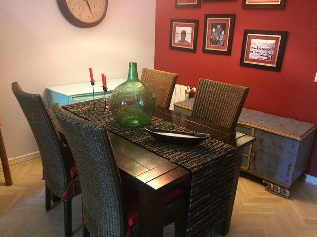 Conjunto mesa y sillas comedor de segunda mano por 520 € en Madrid ...