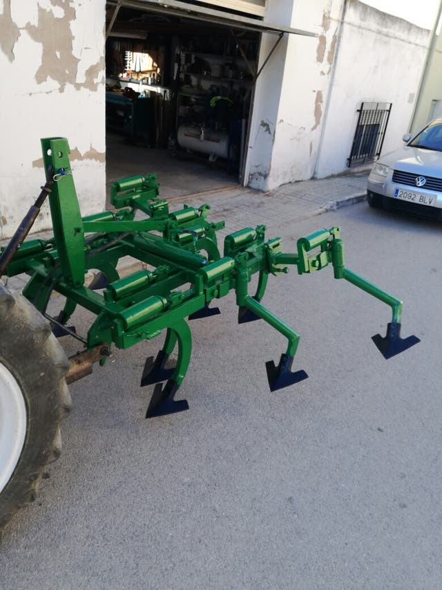 cultivador hidráulico muelles