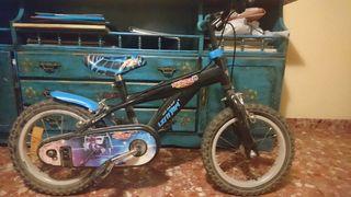 "bicicleta niño infantil 14"" rueda"