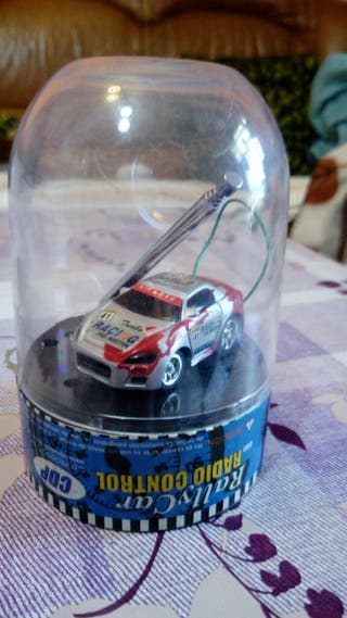 Juguete antiguo Rally Car Radio Control 1980!!
