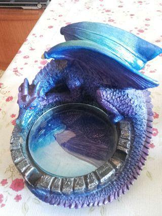 dragón de ceramica