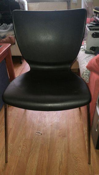 silla plastico