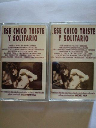 Cassettes Antonio Vega