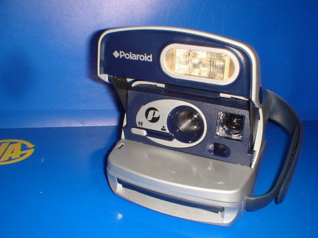 Cámara vintage Polaroid modelo P funcionan