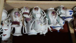 cafeteras de porcelana