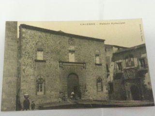 Postal Cáceres Palacio Episcopal