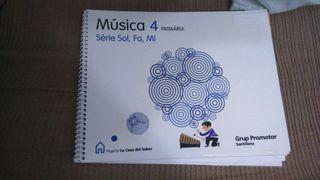 libro de musica cuarto de primaria
