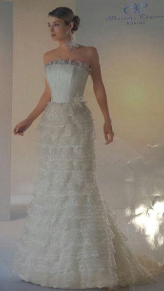 vestido de novia de segunda mano en Écija en wallapop