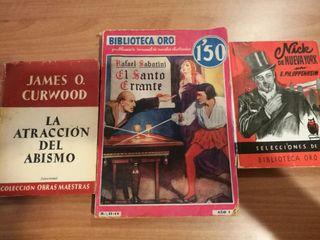 CONJUNTO DE LIBROS DE MISTERIO