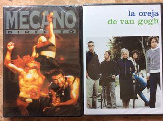 Dvd musical pop espanol