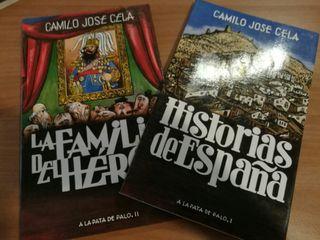 CONJUNTO DE 4 LIBROS DE CAMILO JOSE CELA